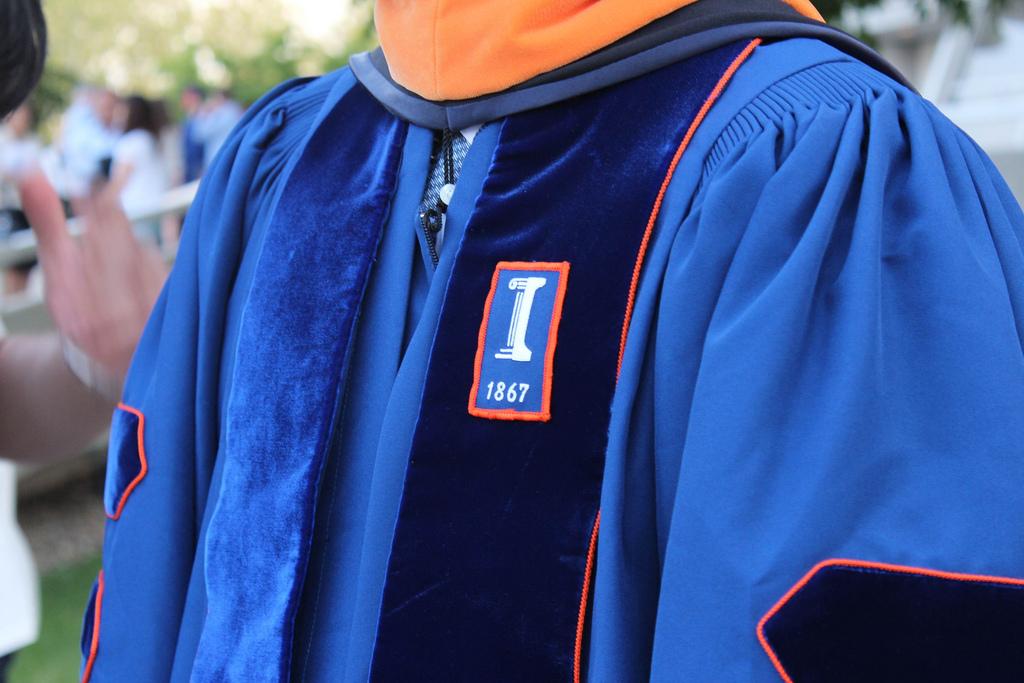 UI PhD Doctoral Robe