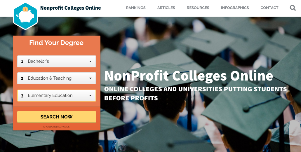 online degrees from nonprofit colleges