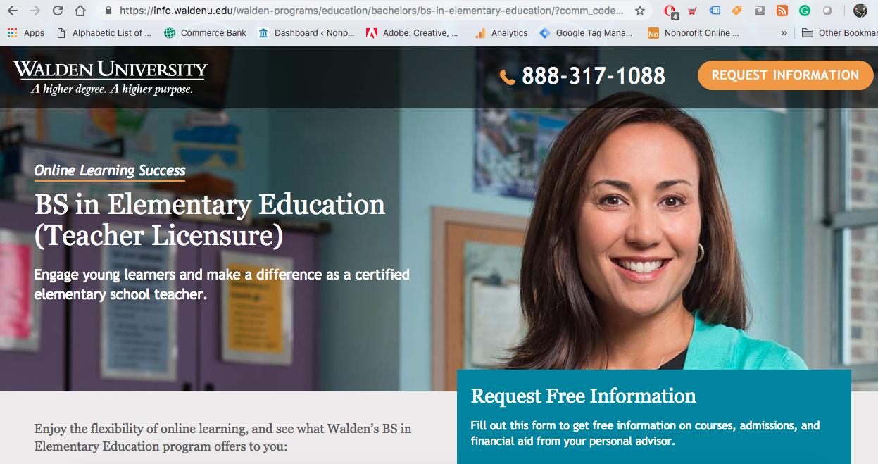 Walden University - A For-Profit University